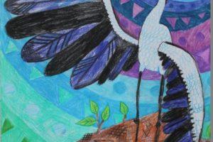 Итоги международного конкурса «Журавль — птица мира»