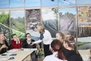 Обучающий семинар в визит-центре заповедника