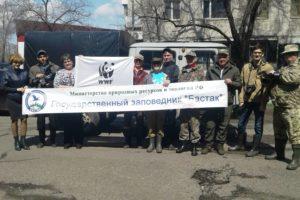 Пресс-тур на территорию кластера «Забеловский» заповедника «Бастак»